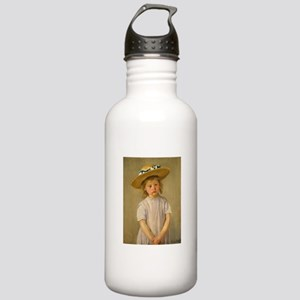 Child In Straw Hat Stainless Water Bottle 1.0L