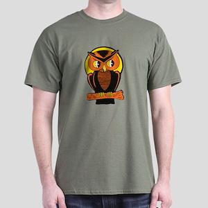 Retro Owl Dark T-Shirt