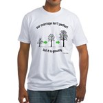 The Growing Marriage Fitted T-Shirt