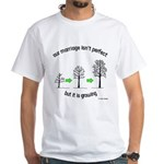 The Growing Marriage White T-Shirt