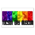 Tucson Gay Museum Sticker (Rectangle)