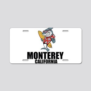 Monterey, California Aluminum License Plate