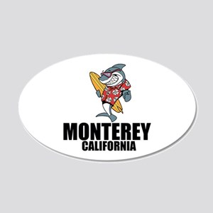 Monterey, California Wall Decal