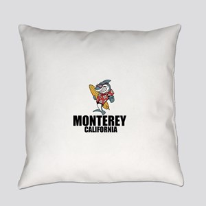 Monterey, California Everyday Pillow