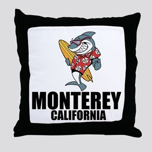 Monterey, California Throw Pillow