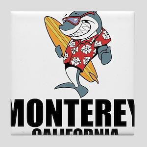Monterey, California Tile Coaster