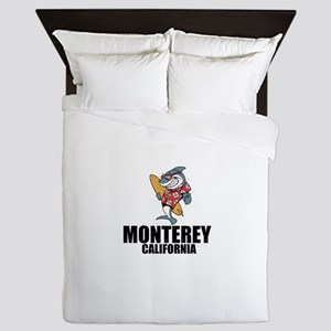 Monterey, California Queen Duvet