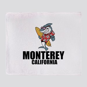 Monterey, California Throw Blanket
