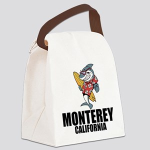 Monterey, California Canvas Lunch Bag