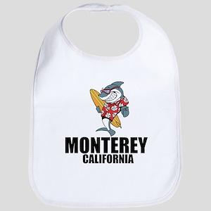 Monterey, California Baby Bib