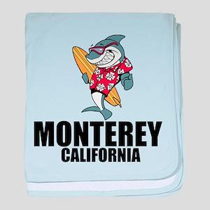 Monterey, California baby blanket