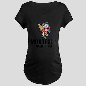 Monterey, California Maternity T-Shirt
