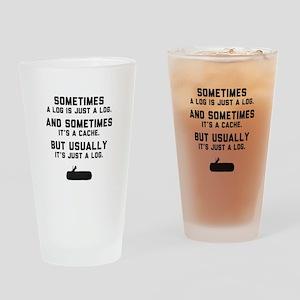 Sometimes... Drinking Glass
