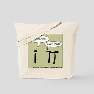 Pi Vs I Tote Bag