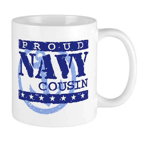 Proud Navy Cousin Mug