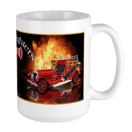 1920 Type 75 Pumper Fire Truck Large Mug