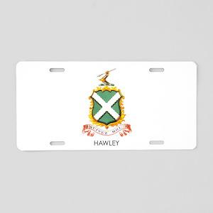 Hawley Aluminum License Plate