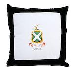 Hawley Throw Pillow-Black
