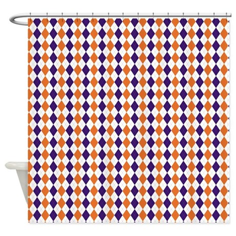 Clemson 2 Shower Curtain