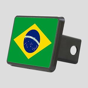 Flag of Brazil Rectangular Hitch Cover