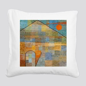 Paul Klee Ad Parnassum Square Canvas Pillow
