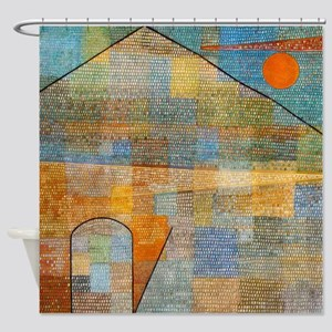 Paul Klee Ad Parnassum Shower Curtain