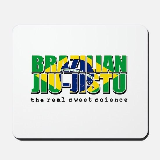 Brazilian Jiu Jitsu designs Mousepad