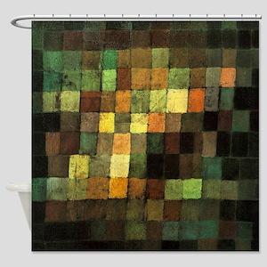 Paul Klee Ancient Sounds Shower Curtain