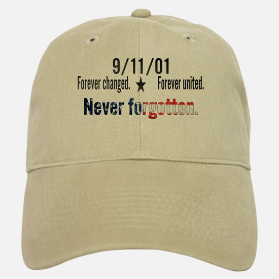 9/11 Tribute Forever United Baseball Baseball Cap