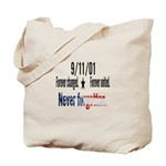 9/11 Tribute Forever United Tote Bag