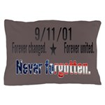 9/11 Tribute Forever United Pillow Case