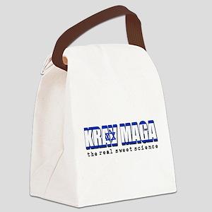 Krav Maga designs Canvas Lunch Bag