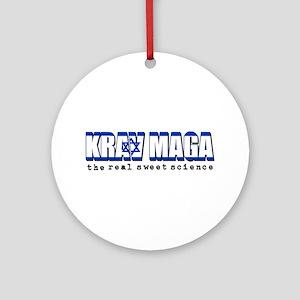 Krav Maga designs Ornament (Round)