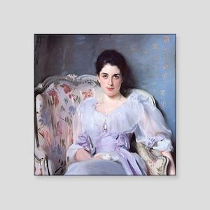 "John Singer Sargent Lady Agnew Square Sticker 3"" x"