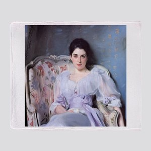 John Singer Sargent Lady Agnew Throw Blanket