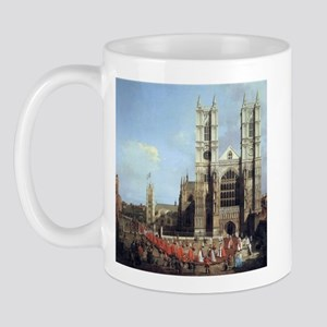 Canaletto Westminster Abbey Mug