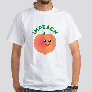 Impeach Trump White T-Shirt