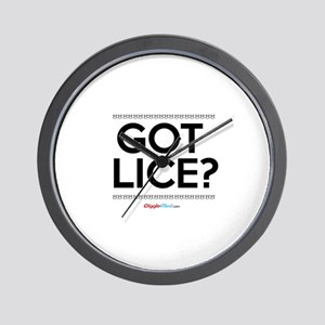 Got Lice? 02 Wall Clock