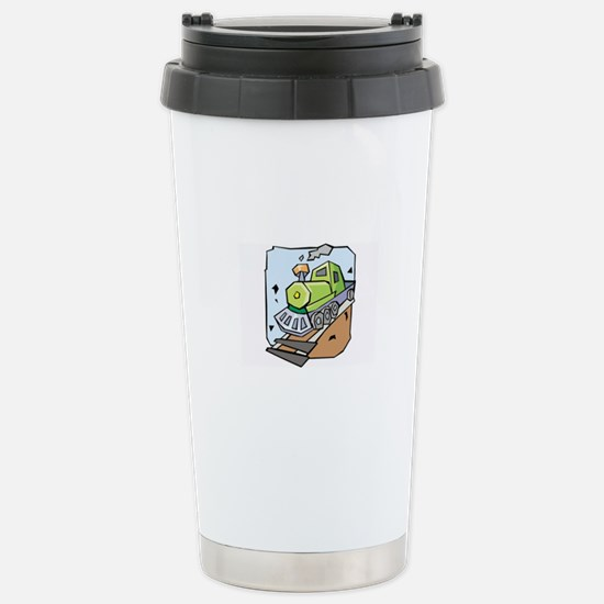 Train Stainless Steel Travel Mug