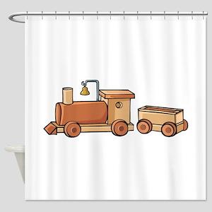 Train Shower Curtain