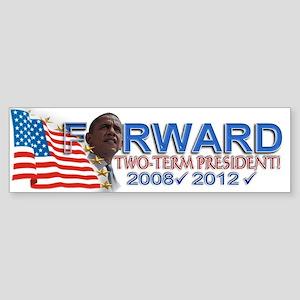 Two-term President: Sticker (Bumper)