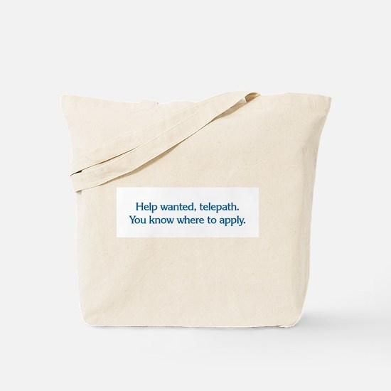 Telepath Tote Bag