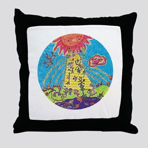 Home in the Sky Throw Pillow