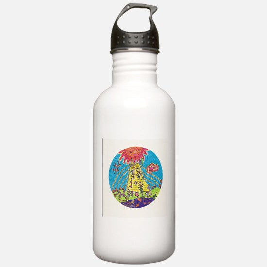 Home in the Sky Water Bottle