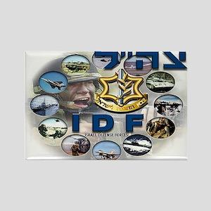 IDF Composite Logo Rectangle Magnet