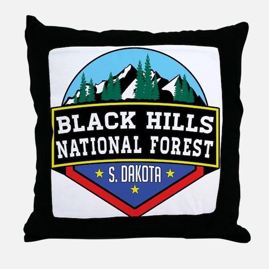 Cute National forest Throw Pillow