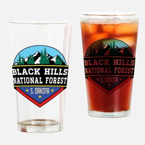Unique Black hills Drinking Glass