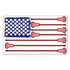 Lacrosse_AmericasGame2_LP Sticker (Rectangle)