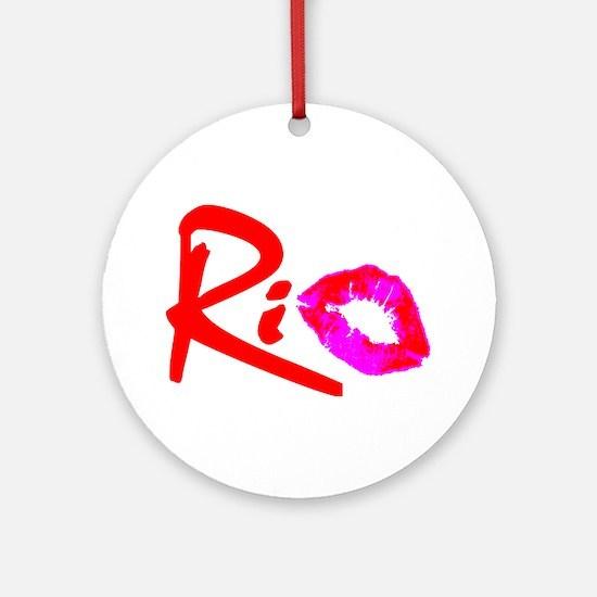 """""""RIO"""" Ornament (Round)"""
