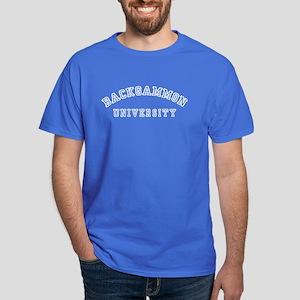 Backgammon University Dark T-Shirt